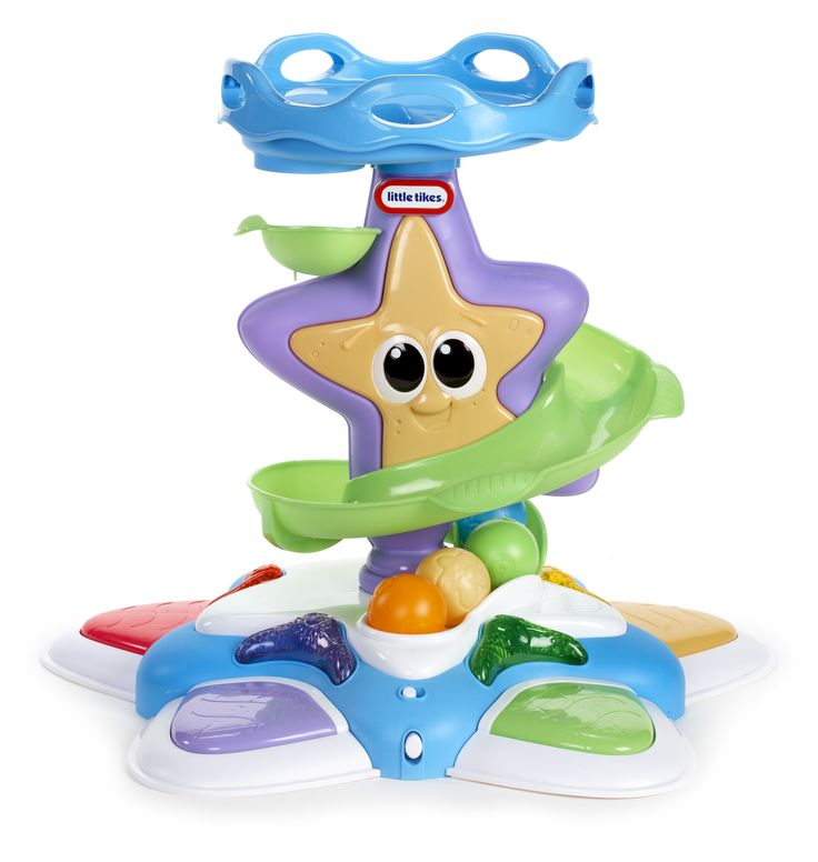 Stand 'n Dance Starfish legetårn. #LittleTikes #Legebyen #Nyhed #Legetøj #Babylegetøj