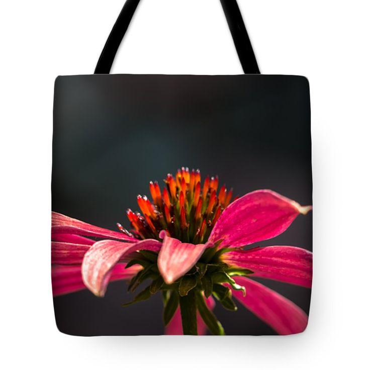 "Echinacea Lady Tote Bag 18"" x 18"""