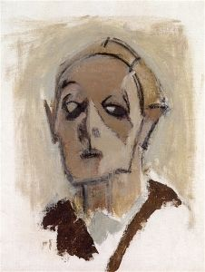 Helene Schjerfbeck, 'Self Portrait', 1945