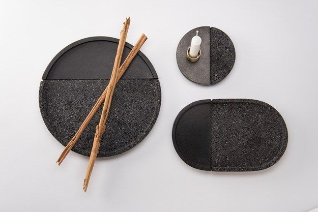 This set of lava plates. | 21 Minimalist Products That Might Turn You On