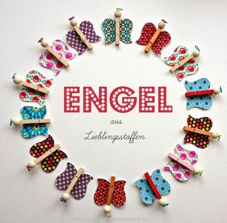 Schöne Idee: Wäscheklammer-Schmetterlinge fürs Klassenzimmer basteln (c) www.schoenstebastelzeit.de #schule