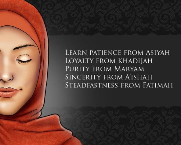 Strong Muslim Role Models for Women