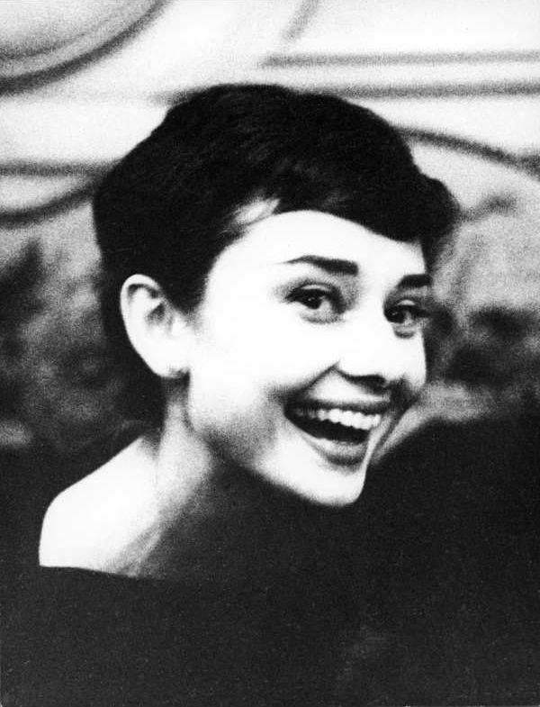 Audrey Hepburn c. 1953-1954, Paris