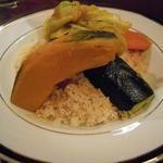 モロッコ料理の台所 エンリケ・マルエコス - 料理写真:Kuskus