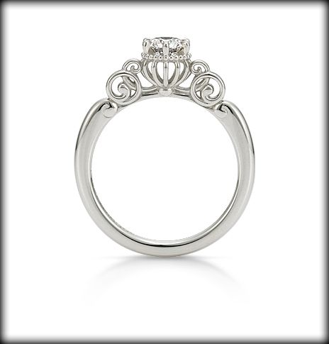 fortunate pumpkin carriage inspired by cinderella the most beautiful ring ive - Cinderella Wedding Ring