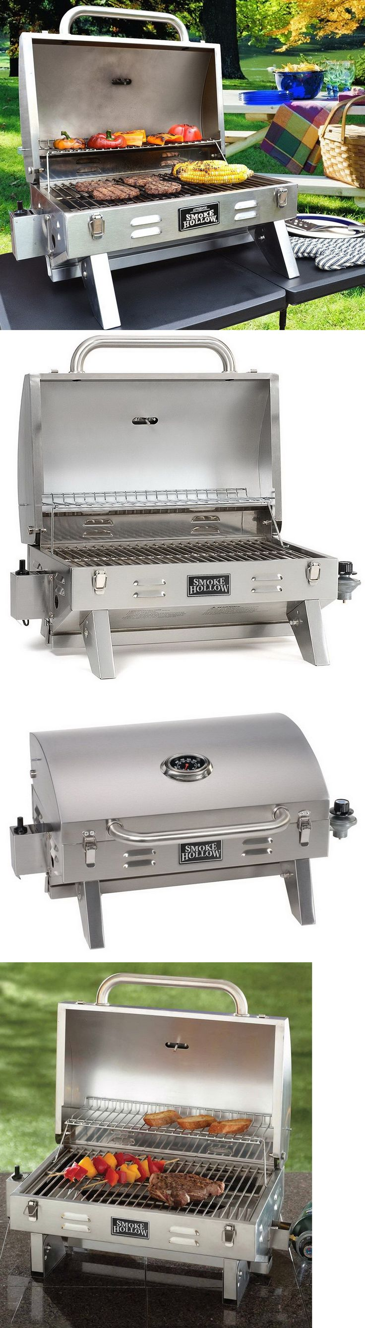 Barbecues Grills and Smokers 151621: New Portable Stainless Steel Gas Grill Tailgate Camping Grill Propane Tabletop -> BUY IT NOW ONLY: $99.28 on eBay!