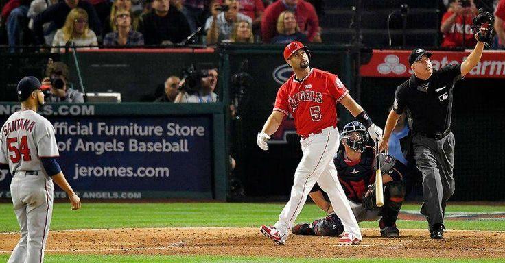 June 3, 2017, Albert Pujols 600 home run off Ervin Santana