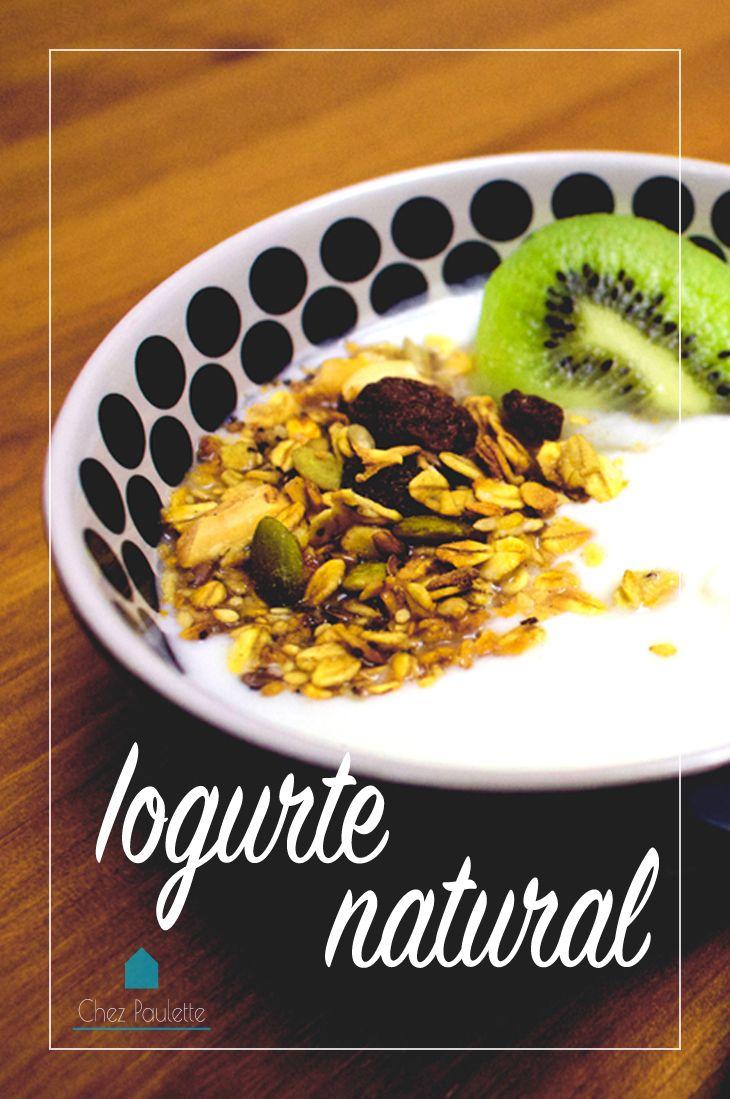 Iogurte natural, tudibão! - Chez Paulette