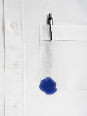 How to Remove Ink from Clothing + the Good Housekeeping Stain buster tool.
