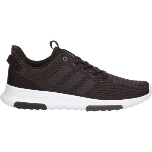 Adidas Men's Neo Cloudfoam Racer TR Shoes (Utility Black/Core Black/White, Size 8) - Men's Athletic Lifestyle Shoes at Academy Sports