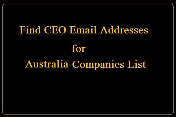 List Of Email Addresses For Businesses Gastronomia Y Viajes