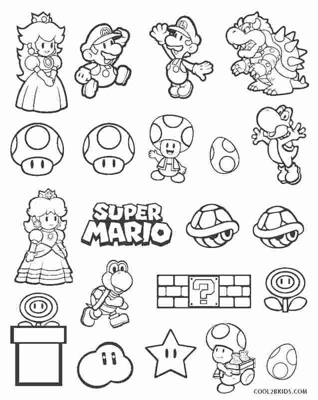 Mario Bros Coloring Books Luxury Free Coloring Pages For Mario Brothers 9  Free Mario Bros In 2020 Super Mario Coloring Pages, Mario Coloring Pages, Super  Mario