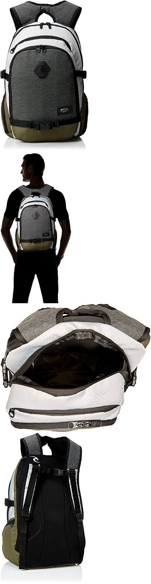 Other Skateboarding Clothing 159079: Rip Curl Men S Posse Stacka Backpack Grey Backpacks, New -> BUY IT NOW ONLY: $72.6 on eBay!