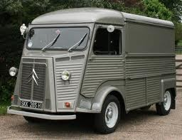 Citroen H Van. I know. I'm crazy. I just love it.