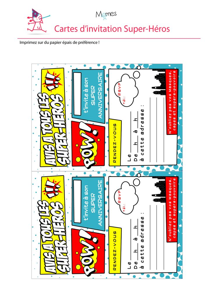 Les 25 meilleures id es de la cat gorie marque page imprimer sur pinterest dollar origami - Carte anniversaire super heros ...