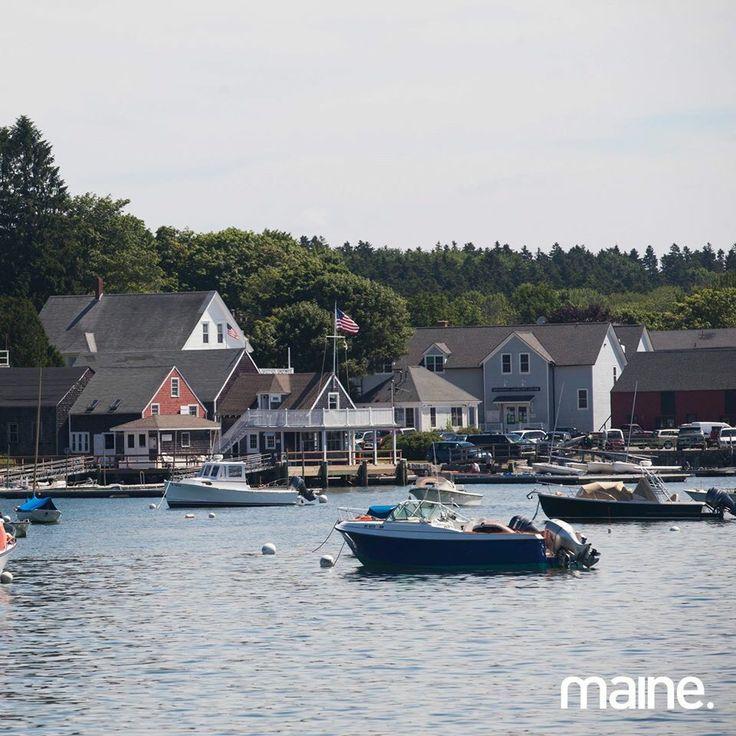 Harbor of North Haven, Maine