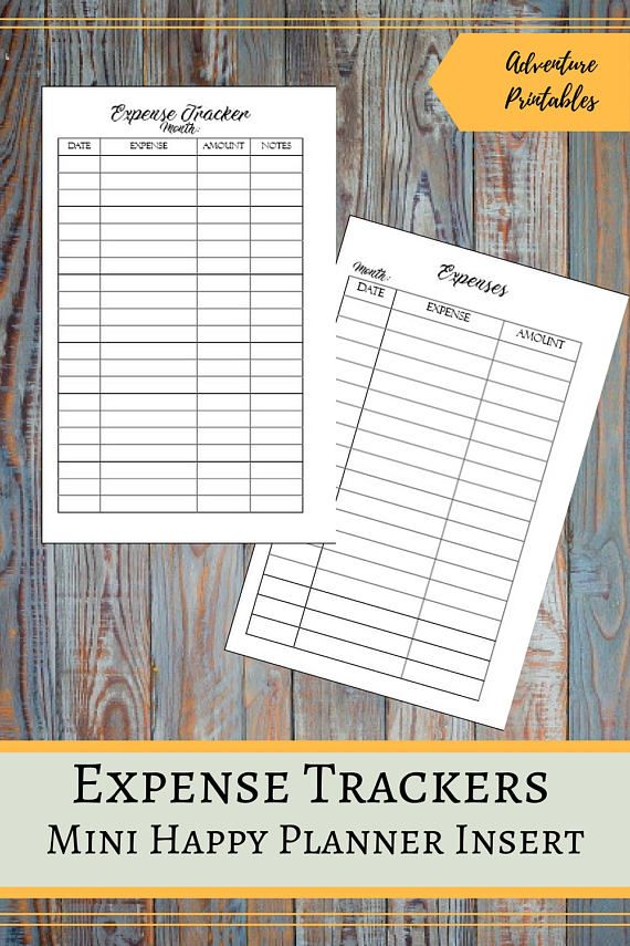 Expense Trackers for the Mini Happy Planner, Spending Tracker, Payments Tracker, Personal Budget, Monthly Expenses, Mambi, Create 365   ▶WHAT IS INCLUDED  You will receive 1 ZIP file that contains:  Simple Expenses List: Expenses List Insert design - 1 PDF File Expenses List Insert design - 2 JPG files Expenses List Insert for printing on A4 - 1 PDF File Expenses List Insert for priting on A4 - 1 JPG File Expenses List Insert for printing on Letter Size- 1 PDF File  Expense Tracker: Expense…