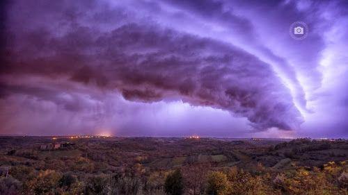 Corfu Weather & News: Εντυπωσιακά Supercells [εικόνες] above Adriatic Sea