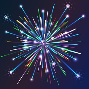 Illustrator Tutorial: How to Create Colorful Vector Fireworks