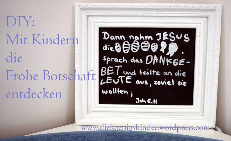 Mit Kindern das Sonntagsevangelium entdecken