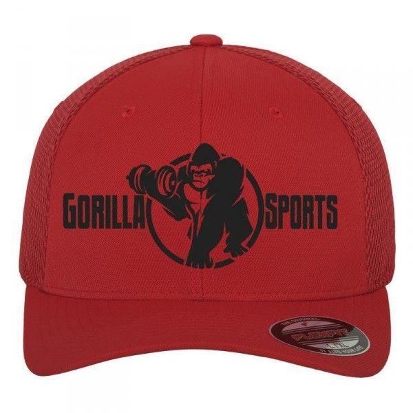 Gorilla sports Tactel Mesh lippis, 19,95 €. Punainen Tactel Mesh lippis tyylikkäällä kirjaitulla Gorilla Sportsin logolla. Lippiksessä on hengitettävä verkkokangas. #lippis #gorilla #gorillalippis
