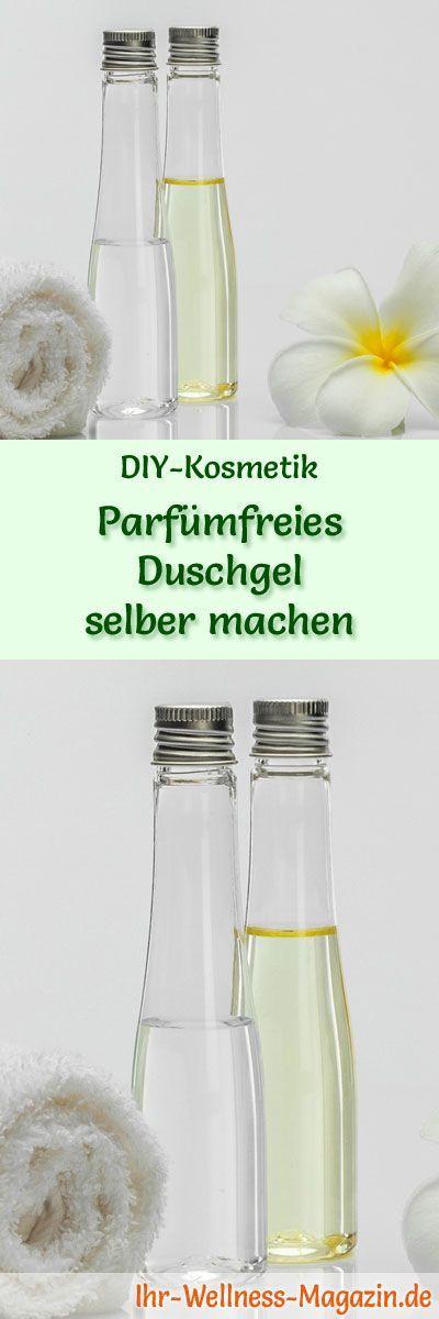 parf mfreies duschgel selber machen rezept und anleitung marion 39 s naturkosmetik pinterest. Black Bedroom Furniture Sets. Home Design Ideas