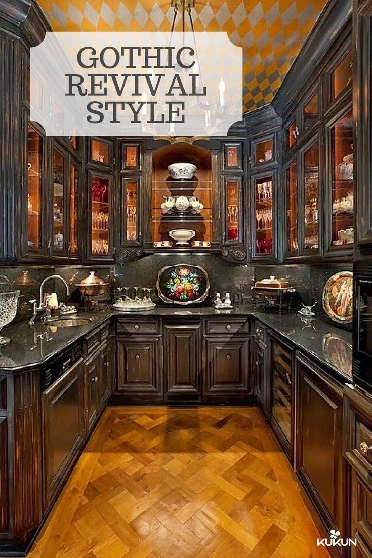 best 25 gothic kitchen ideas on pinterest gothic home. Black Bedroom Furniture Sets. Home Design Ideas