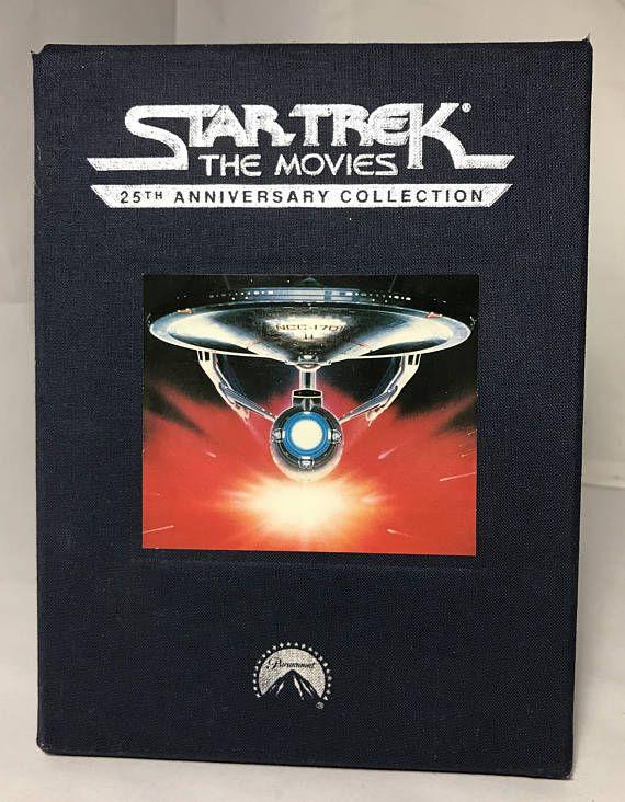 1992 25th Anniversary Star Trek Movies Set VHS