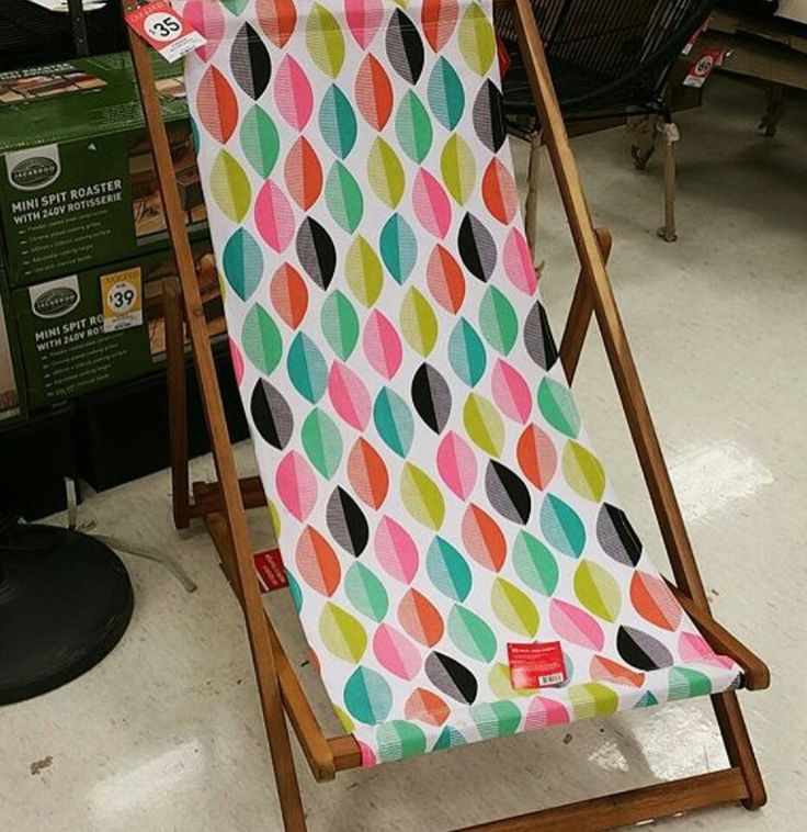 Love this fabric. Kmart Australia style