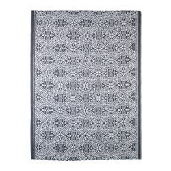 IKEA - SOMMAR 2016, Rug, flatwoven, The rug is perfect for outdoor use since it is made to withstand rain, sun, snow and dirt.If the rug gets dirty, you can wipe it or hose it down and hang it up to dry.