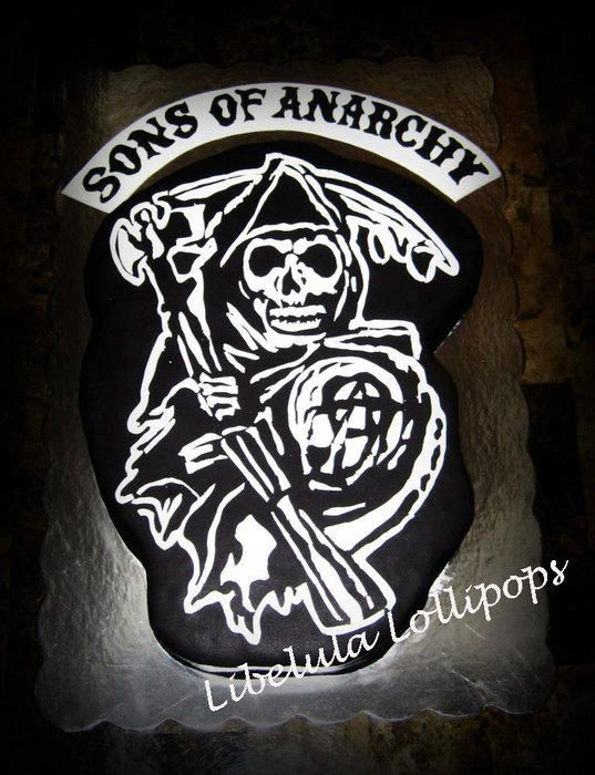 Sons of Anarchy Cake - Cake by Mariela
