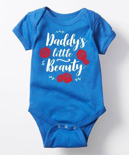 Royal Blue Daddys Little Beauty Bodysuit - Infant   zulily