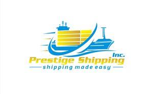 Container shipping company design Feminine, Upmarket Logo Design by hih7