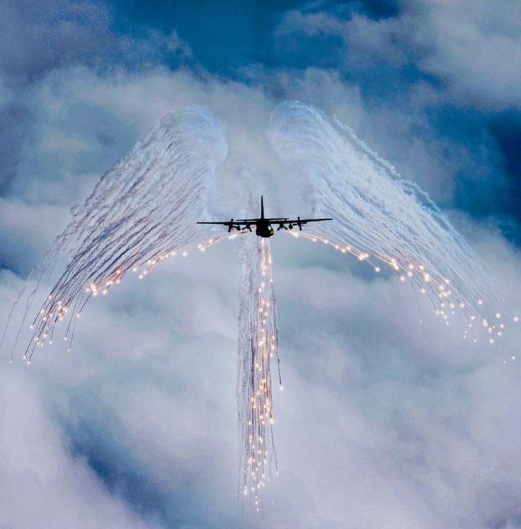 C-130 flare ON!