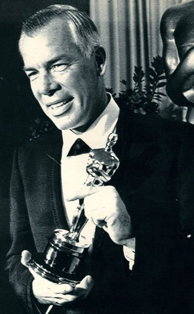 "Lee Marvin....Winning the Oscar in 1966 - wins for the role he played in ""Cat…"