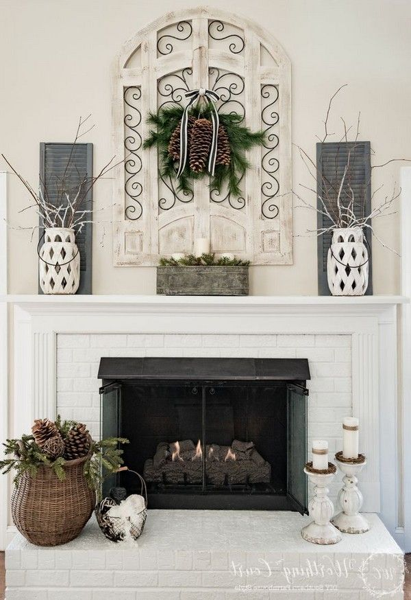 Fireplace Mantel Ideas How to Cozy Up