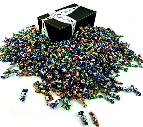 Colombina Delicate Fruit Drops, 4 lb Bag in a Gift Box