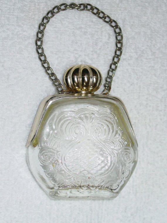 Avon Collectible Perfume Bottles 1960s | Vintage Avon Perfume Bottle Purse Petite