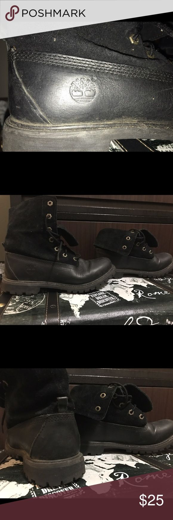Timberland boots Used original timberland boots. With obvious wear and tear. Very strong shoes Timberland Shoes Combat & Moto Boots