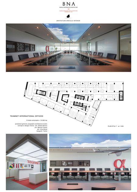 Birourile Teamnet International - Bienala Naţională de Arhitectură 2014