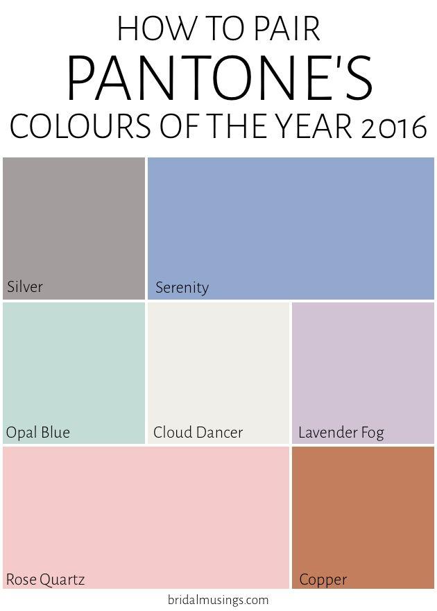 Ideas para color pared dormitorio (Pantone 2016)