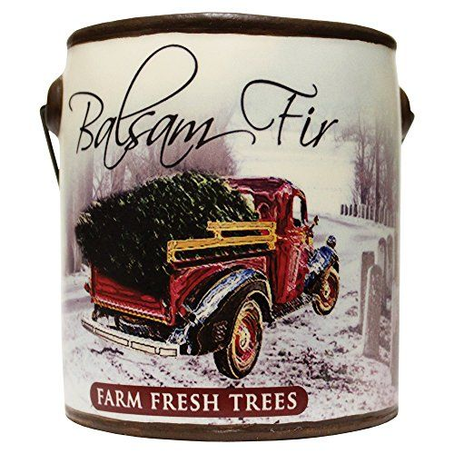 A Cheerful Giver Balsam Fir Farm Fresh Collection Candle, 20 oz