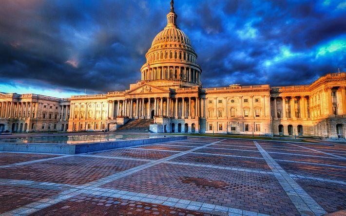 washington, congress, capitol, usa
