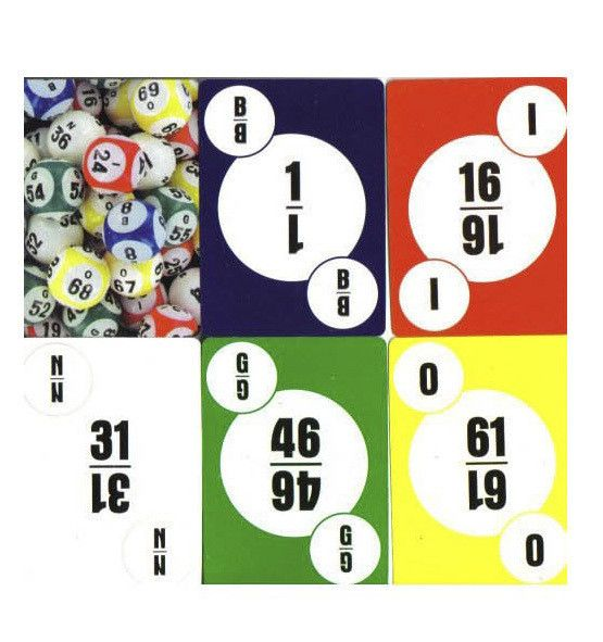 Deck of Bingo Calling Cards 1 | Casino Supply