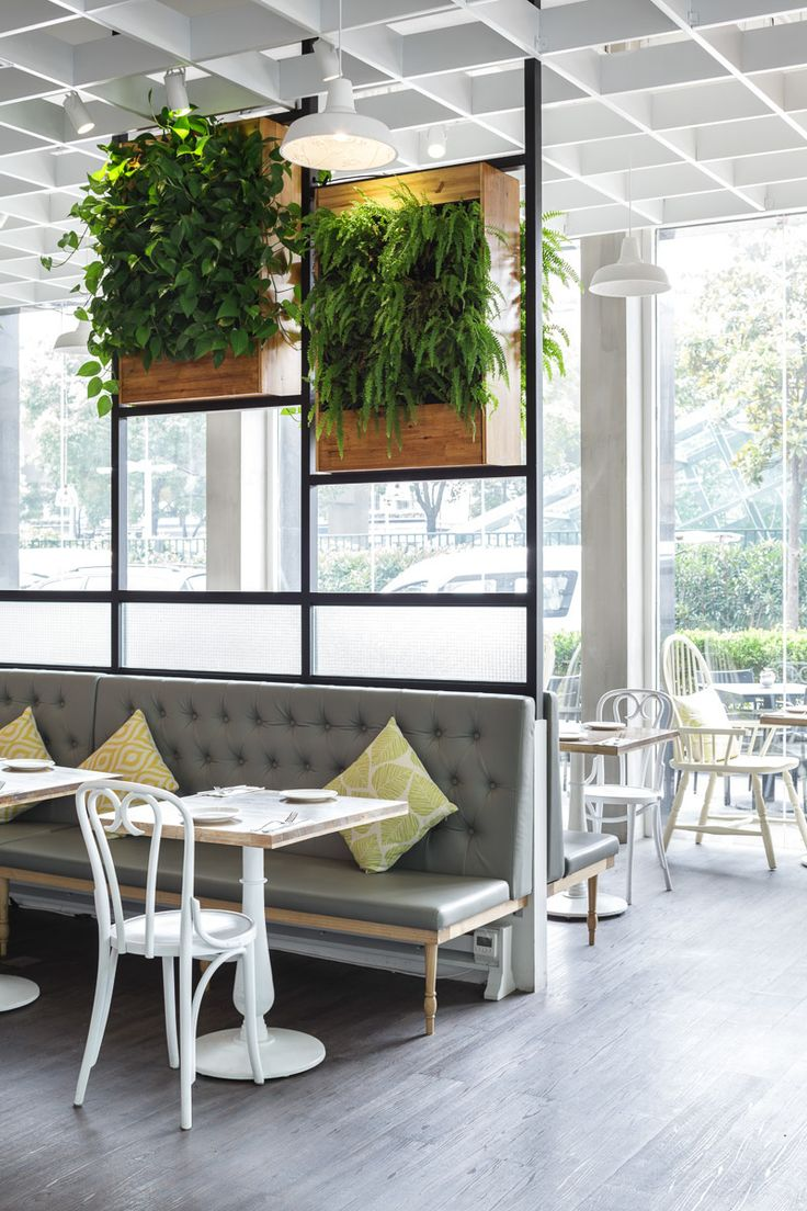 Nora's Bistro is a chic Californian style restaurant in Jingan District, Shanghai. Designed by Hannah Churchill by hcreates. Photographed by Seth Powers.
