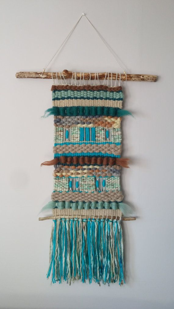 Large Handwoven/Wall by KalaFiberArts on Etsy