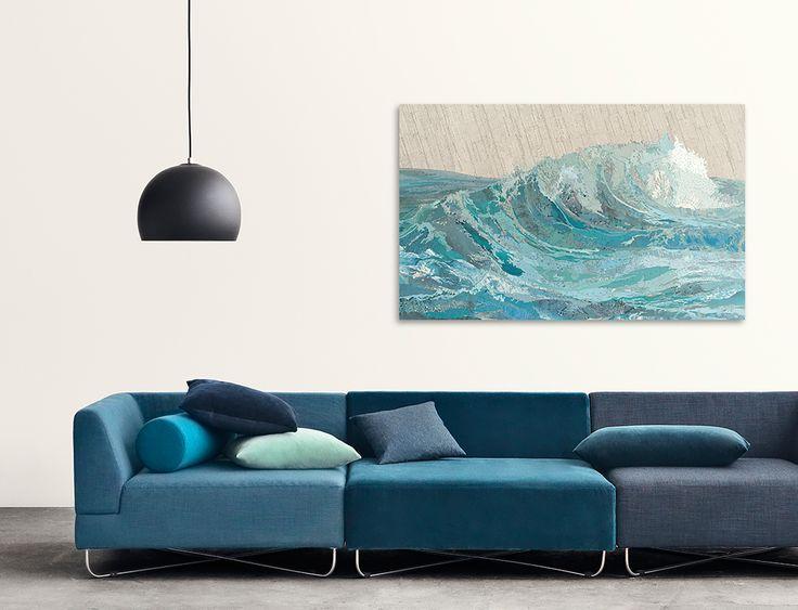 © www.lumas.com. Work by Matthew Cusick. Objects by Bolia.com