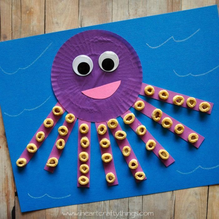 DAY 3 VBS CRAFT read a cute story about an Octopus this week called Tickly Octopus and then decided to create our own Octopus out of a Cupcake Liner. Adding the Cheerios to the legs turned out to be great fine motor practice for my daughter's little fingers. I love that you can customize him how you'd like, …