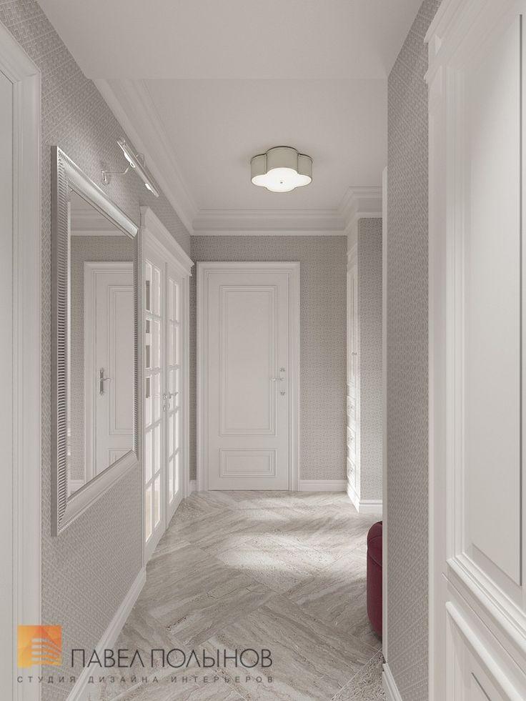 Фото: Коридор - Интерьер квартиры в классическом стиле в ЖК «Времена года», 61 кв.м.