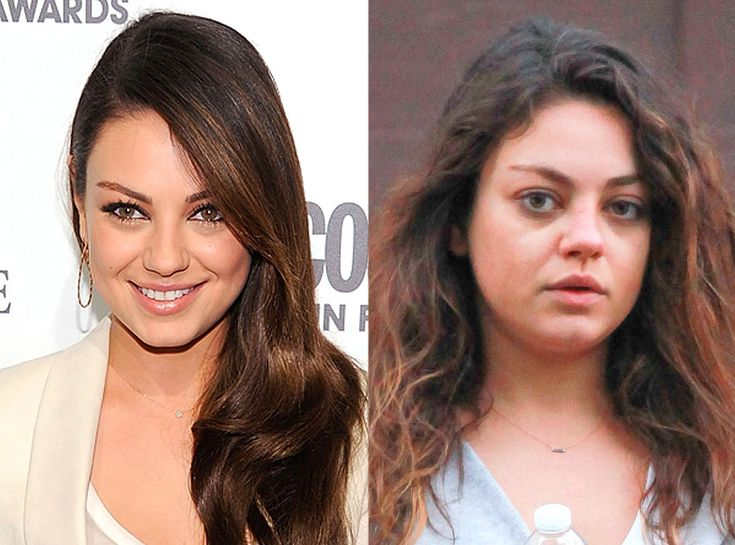 Mila Kunis from Stars Without Makeup | E! Online